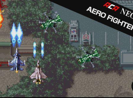 ACA NEOGEO AERO FIGHTERS 2: il titolo in arrivo il 3 agosto sui Nintendo Switch europei