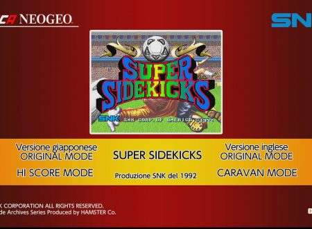 ACA NEOGEO SUPER SIDEKICKS: uno sguardo in video al titolo da Nintendo Switch europei