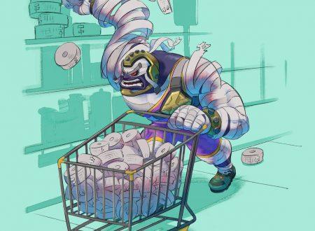 ARMS: pubblicato un nuovo artwork di Master Mummy, mentre fa la spesa al supermercato delle bende