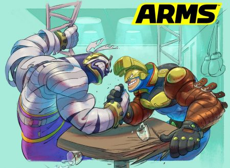 ARMS: pubblicato un nuovo artwork ufficiale su Master Mummy e Max Brass