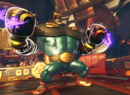 ARMS: una prima occhiata al nuovo lottatore Max Brass e alle sue armi base