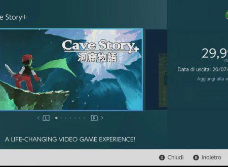 Cave Story+: il titolo in arrivo il prossimo 20 luglio sui Nintendo Switch europei