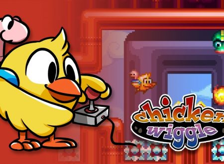 Chicken Wiggle: il titolo volerà presto sul Nintendo eShop del 3DS, sguardo in video al level editor