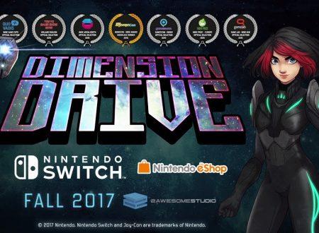 Dimension Drive: il titolo annunciato e in arrivo in Autunno sui Nintendo Switch europei