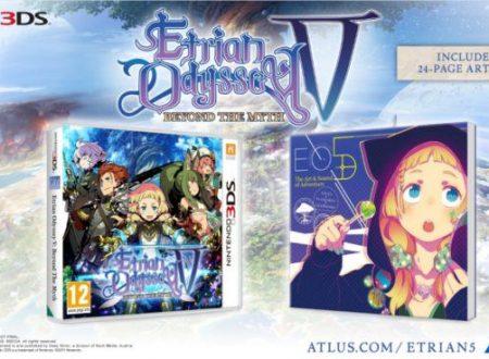 Etrian Odyssey V: il titolo includerà un artbook nella versione europea per Nintendo 3DS