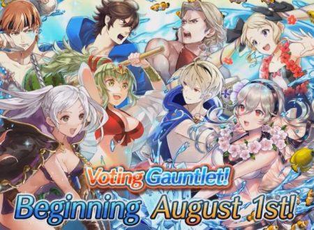 Fire Emblem Heroes: Sfida ai voti: scontro in spiaggia in arrivo domani, problemi di accesso ai bonus estivi