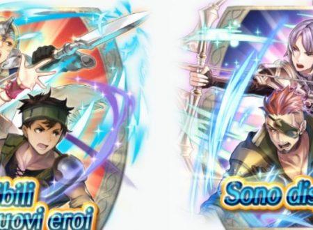 Fire Emblem Heroes: disponibili le nuove evocazioni da Fire Emblem Echoes: Shadows of Valentia