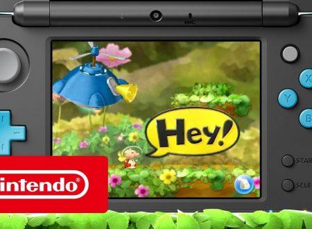 Hey! PIKMIN: pubblicato il trailer introduttivo italiano del titolo per 3DS