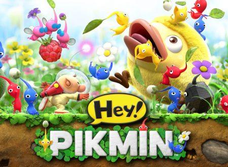 Hey! Pikmin: pubblicati dei nuovi video gameplay del titolo per Nintendo 3DS