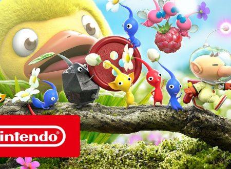 Hey! Pikmin: pubblicato il trailer di lancio del titolo per Nintendo 3DS