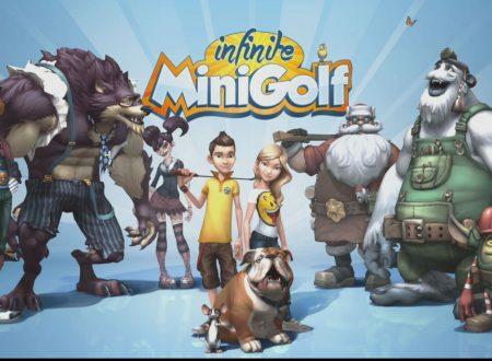 Infinite MiniGolf: il titolo in arrivo il prossimo 25 luglio sui Nintendo Switch europei