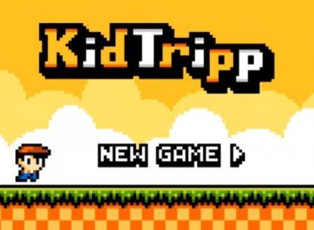 Kid Tripp: il titolo in arrivo il prossimo 27 luglio sui Nintendo 3DS europei