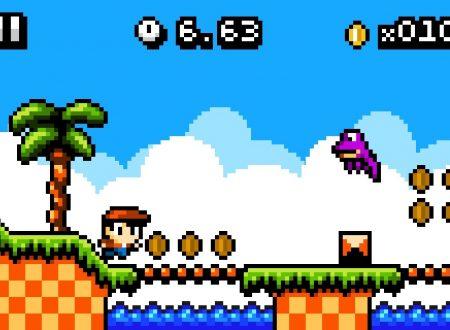 Kid Tripp: titolo in arrivo su Nintendo Switch, pubblicato il trailer della versione 3DS
