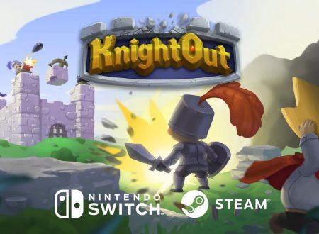 KnightOut: il titolo è stato finanziato per l'arrivo di una versione per Nintendo Switch