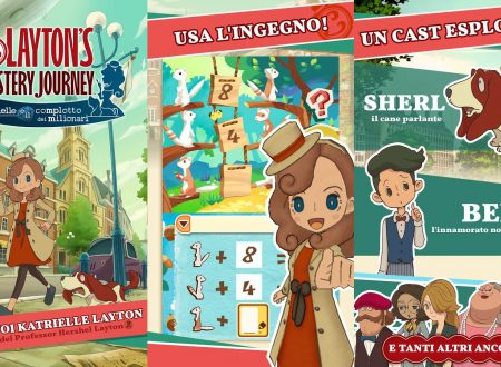LAYTON'S MYSTERY JOURNEY: Katrielle e il complotto dei milionari, le differenze tra mobile e 3DS, parlando anche di Nintendo Switch