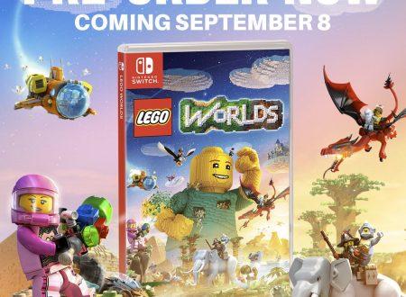 LEGO Worlds: il titolo in arrivo il prossimo 8 settembre sui Nintendo Switch europei