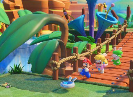 Mario + Rabbids Kingdom Battle: gli amiibo di Mario, Luigi, Peach e Yoshi, sbloccheranno nuove armi nel gioco