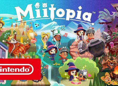 Miitopia: pubblicato il trailer di lancio italiano del titolo per Nintendo 3DS