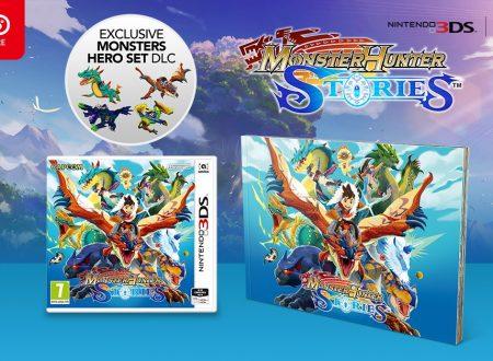 Monster Hunter Stories: titolo in preorder con un artbook in bonus sul Nintendo UK Store