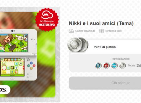 My Nintendo: nuovi premi disponibili da Pictoposta, temi e contenuti aggiuntivi