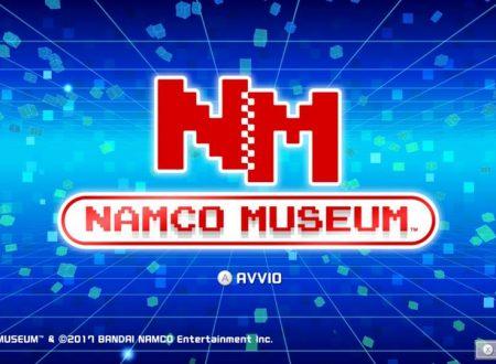 Namco Museum: il titolo aggiornato alla versione 1.0.1 sui Nintendo Switch europei