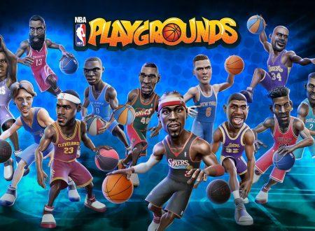 NBA Playgrounds: il titolo finalmente aggiornato alla versione 1.1.3, aggiunta la modalità online e altro