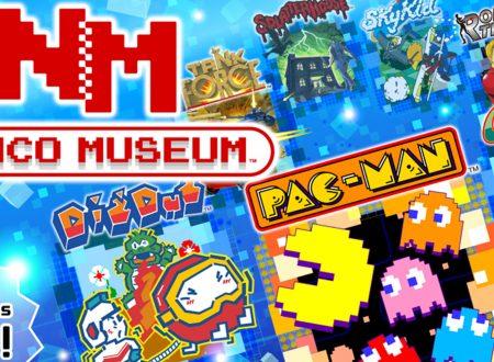 Namco Museum: pubblicato un nuovo trailer giapponese della raccolta per Nintendo Switch