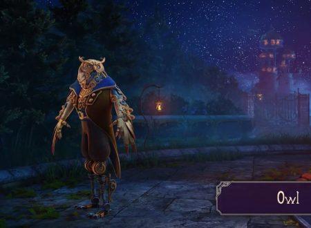 Nine Parchments: mostrata una nuova clip del Mechanical Owl, uno dei personaggi del titolo