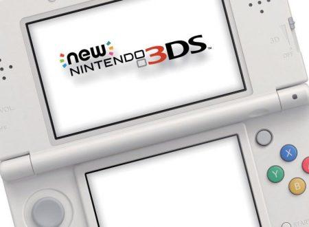 Nintendo 3DS: aggiornato il firmware della console, ora alla versione 11.6.0-39