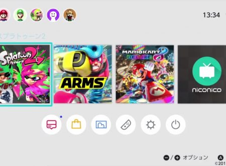 Nintendo Switch: annunciata l'applicazione di Niconico, la primissima app della console