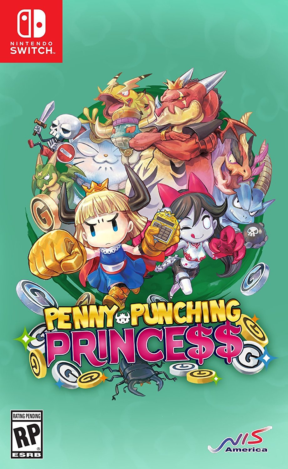 Nintendo Switch: mostrate le boxart di Penny-Punching ...