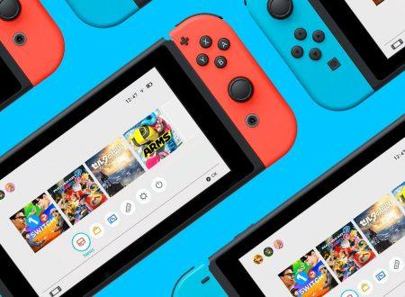 Nuova manutenzione per i servizi e il gioco online su Nintendo Switch il 1 novembre