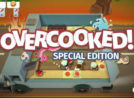 Overcooked: Special Edition, il titolo in arrivo il 27 luglio sui Nintendo Switch europei