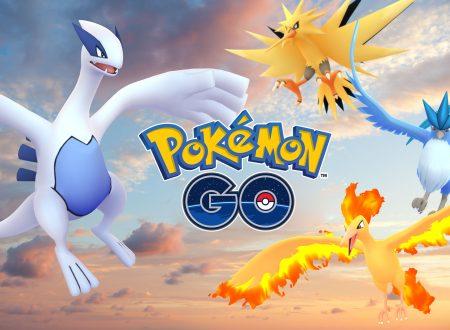 Pokémon GO: Lugia è il primo leggendario disponibile, seguito da Articuno, presto Zapdos e Moltres