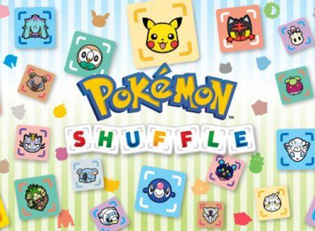 Pokémon Shuffle: nuovi contenuti del 18 luglio disponibili su Nintendo 3DS