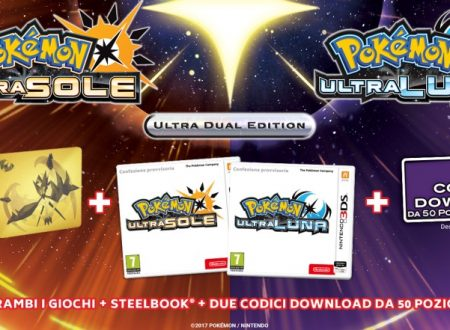 Pokémon Ultrasole e Ultraluna: svelate le due Limited e l'Ultra Dual Edition italiana dei titoli