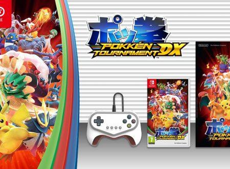 Pokkén Tournament DX: il titolo in preorder con poster e Pro Pad Controller sul Nintendo UK Store