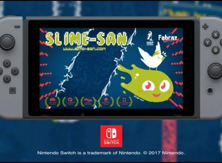 Slime-san: il titolo in arrivo il 3 agosto sui Nintendo Switch europei e americani
