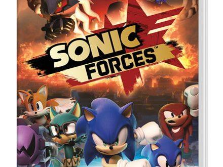 Sonic Forces: mostrata la boxart europea del titolo su Nintendo Switch