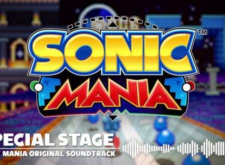 """Sonic Mania: svelata la presenza degli Stage Speciali, con la soundtrack """"Dimension Heist"""""""