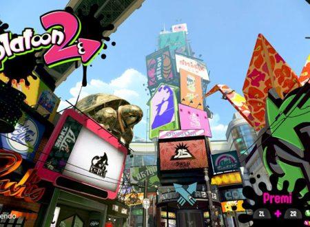 Splatoon 2: il titolo per Nintendo Switch, ora aggiornato alla versione 1.1.2