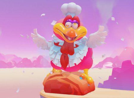 Super Mario Odyssey: mostrata una nuova immagine di Gourmello, un uccello ghiottone