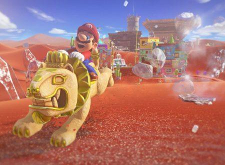 Super Mario Odyssey: mostrato il Ruggitaxi, il mezzo di trasporto tipico del Regno delle Sabbie