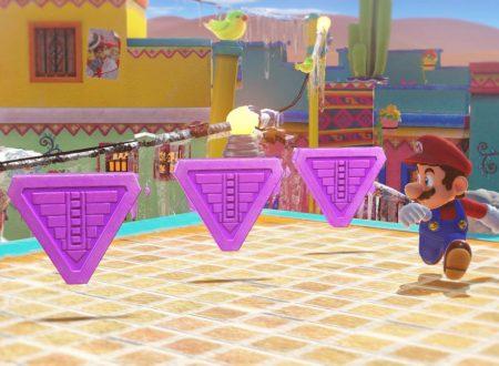 Super Mario Odyssey: nuovi tweet ci mostrato le varie monete di gioco, diverse in base alla location