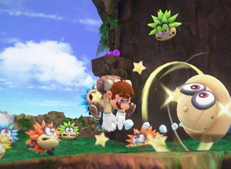 Super Mario Odyssey: pubblicato un video gameplay del Regno della Foresta