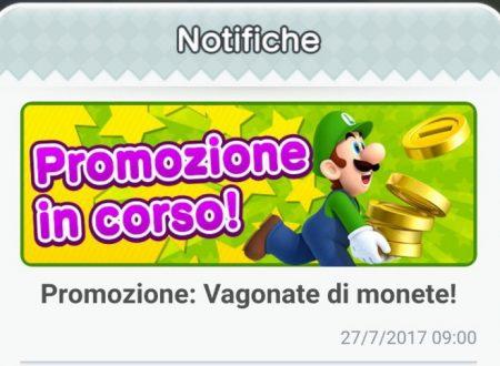 """Super Mario Run: la promozione """"Vagonate di monete"""" di nuovo disponibile nel titolo mobile"""
