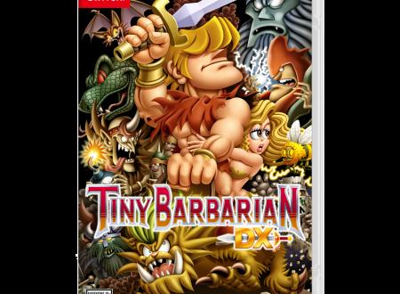 Tiny Barbarian DX: mostrata la boxart del titolo in arrivo su Nintendo Switch