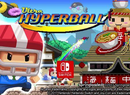 Ultra Hyperball: il titolo indipendente di Springloaded, ufficialmente in arrivo su Nintendo Switch