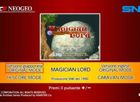 ACA NEOGEO MAGICIAN LORD: uno sguardo in video dai Nintendo Switch europei
