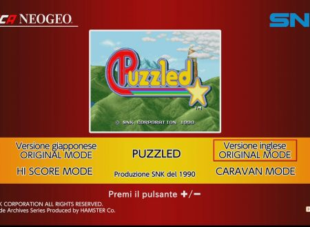 ACA NEOGEO PUZZLED: uno sguardo in video al titolo da Nintendo Switch europei